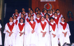 The School Choir at the Concert