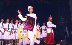 School Concert 'In the Bazaars of Hyderabad' was beautifully presented