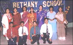 First Batch of outgoing ICSE Class X (March 2000)