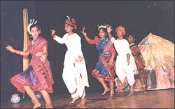The Tribal Dance of Andhrapradesh